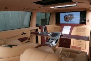 Inside Luxury Limo